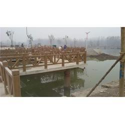 水泥仿木护栏,泰安压哲仿木栏杆,别墅水泥仿木护栏图片