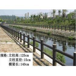 郓城县仿木护栏-景观仿木护栏-压哲艺术围栏(多图)图片