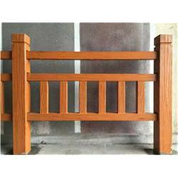 水泥仿木栏杆、南充仿木栏杆、泰安压哲仿木栏杆图片