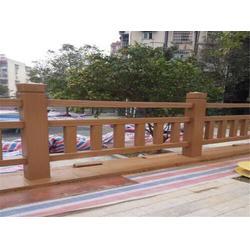 泰安压哲仿木栏杆|水泥仿木栏杆|小区水泥仿木栏杆图片