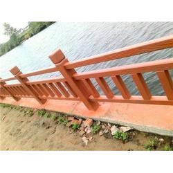 混凝土仿木栏杆_泰安压哲仿木栏杆_卖混凝土仿木栏杆图片