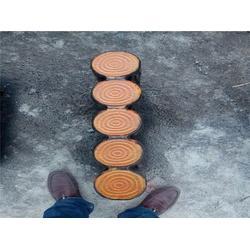 水泥树桩石订做|水泥树桩石|泰安压哲仿木栏杆图片
