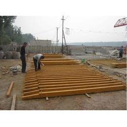仿木廊架 泰安压哲仿木栏杆 仿木廊架安装图片