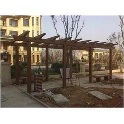 水泥仿木廊架|仿木廊架|泰安压哲仿木栏杆(查看)图片