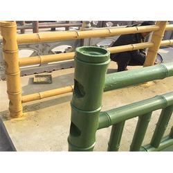 仿竹栏杆、泰安压哲仿木栏杆(在线咨询)、混凝土仿竹栏杆图片