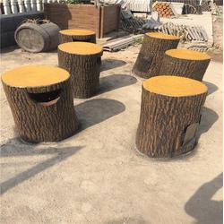 公园树桩垃圾桶,阜阳树桩垃圾桶,泰安压哲仿木栏杆(在线咨询)图片