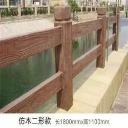 仿木栏杆,泰安压哲仿木栏杆,仿木栏杆模具图片