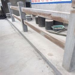 泰安压哲仿木栏杆、水泥仿木栏杆、湿地公园水泥仿木栏杆图片