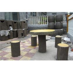 水泥仿木,泰安压哲仿木栏杆,水泥仿木护栏图片