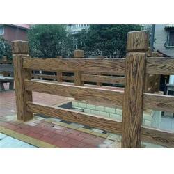 防树皮栏杆|泰安压哲仿木栏杆|北京防树皮栏杆图片