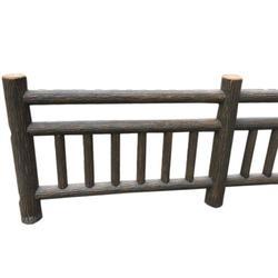 水泥栏杆护栏,龙岩水泥栏杆,泰安压哲仿木栏杆(多图)图片