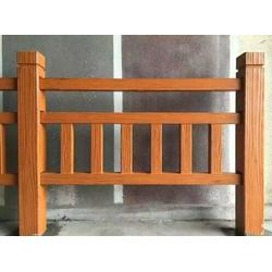 仿木护栏报价,仿木护栏,压哲艺术围栏图片