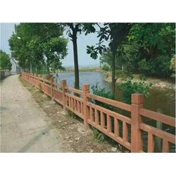 水泥仿木栏杆制作法、黄山水泥仿木栏杆、泰安压哲仿木栏杆图片
