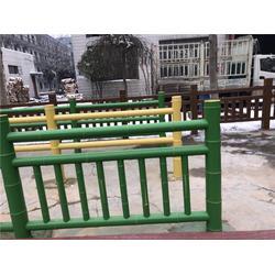 新疆仿木栏杆-水泥仿木栏杆-泰安压哲仿木栏杆(推荐商家)图片