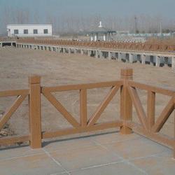 抚顺混凝土仿木护栏全国发货图片