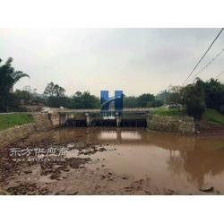 供应江河水利JHFB 景观河道液压翻板闸门设计制造安装售后图片