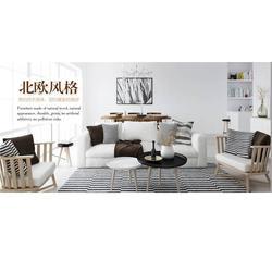 北欧休闲沙发定制,泉州北欧休闲沙发,厦门南艺轩公司(查看)图片