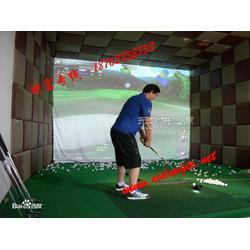 室内模拟高尔夫,高尔夫模拟器图片