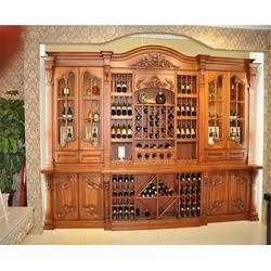 定做酒柜、池州酒柜、安徽舒森木业(查看)图片