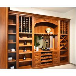 马鞍山酒柜、安徽舒森木业(在线咨询)、专业定制酒柜图片