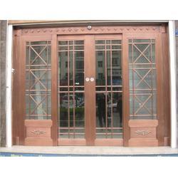 子母铜门,铜门,江阴神韵金属制品厂(查看)图片