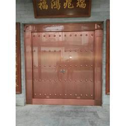 企事业单位中式铜门,中式铜门,神韵金属制品图片