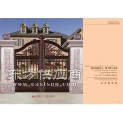 别墅庭院大门/××美顺sell/户外别墅门图片