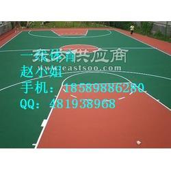 忻城塑胶球场施工工艺流程以及塑胶材料性能图片