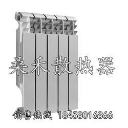 压铸铝暖气片厂家 桑禾散热器 压铸铝暖气片制造厂家图片