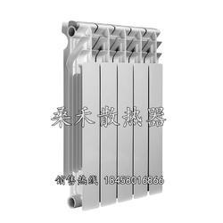 压铸铝散热器 桑禾散热器 压铸铝散热器厂家图片