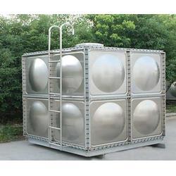 皓可不锈钢制品(图)、不锈钢水箱厂家、南京水箱图片
