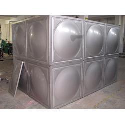 徐州水箱-皓可不锈钢水箱-不锈钢焊接水箱图片