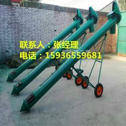 小麦绞龙输送机/水稻装车输送机/移动式螺旋输送机图片