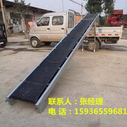 小麦输送机 粮食装车传送机 移动升降输送带图片