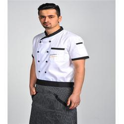 酒店厨师服定做、河东区酒店厨师服、启航人(查看)图片