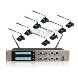 博聆智能无纸化会议一拖八无线会议系统图片
