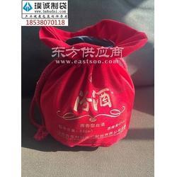 汾酒包装布袋1汾酒布袋生产厂家1绒布酒布袋定制图片