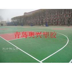 硅PU篮球场施工-硅PU篮球场-硅PU球场厂家图片