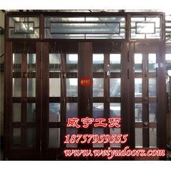 威宇铜门值得�选择 玻璃门铜∮门-玻璃门铜≡门图片