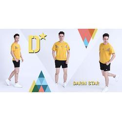 新款羽毛球运动服套装情侣、羽毛球运动服、达人体育用品图片