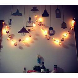 圣诞灯饰铁丝灯笼球-许昌铁丝球-誉美饰品厂优批发