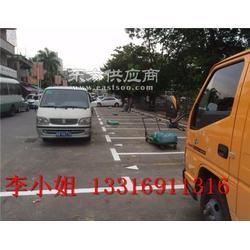 华强北酒店停车场划线 小区划网格线图片