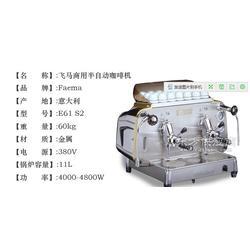 意大利进口飞马FAEMA E61 S2意式商用双头手控半自动咖啡机图片