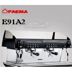 意大利进口飞马E91半自动咖啡机双头电控意式图片