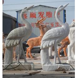 晚霞红汉白玉动物雕塑厂家在哪,欢迎您来选购,打八折图片