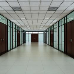 铝合金隔断-办公室铝合金隔断-联诺铝业(优质商家)图片