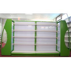 百仕特超市货架多少钱一组-背孔精品超市货架-精品超市货架图片