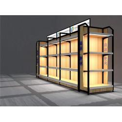 商超货架报价-饰品店货架,百仕特-调节式商超货架图片
