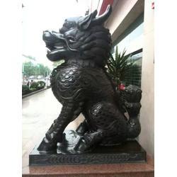 铜麒麟厂家-河南铜麒麟-天顺雕塑图片