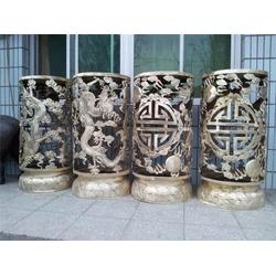铜灯罩广场安全雕塑-台南铜灯罩-天顺雕塑(查看)图片